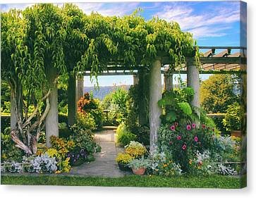Italianate Terrace Canvas Print by Jessica Jenney