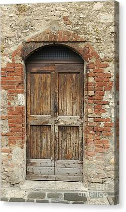 Italy - Door Eleven Canvas Print