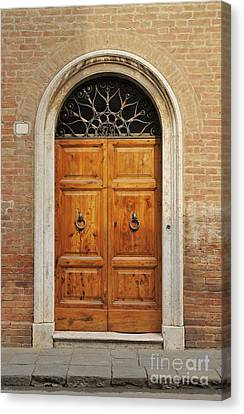 Italy - Door Fifteen Canvas Print