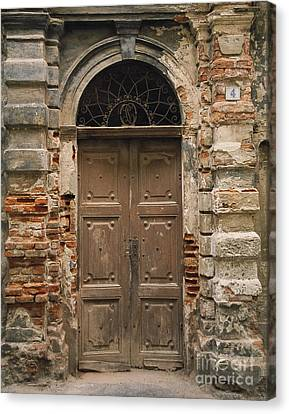 Italy - Door Four Canvas Print