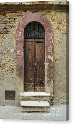Italy - Door Seven Canvas Print