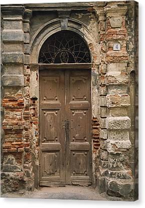 Italy - Door Four Canvas Print