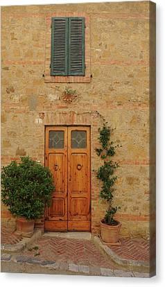 Italy - Door Nine Canvas Print