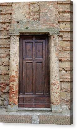 Italy - Door Nineteen Canvas Print