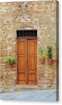 Italy - Door Six Canvas Print