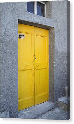 Italy - Door Three Canvas Print
