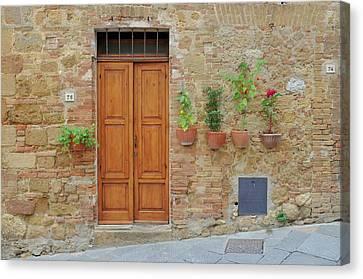 Italy - Door Twenty Canvas Print