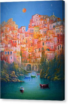 Impressions Of Italy   Canvas Print