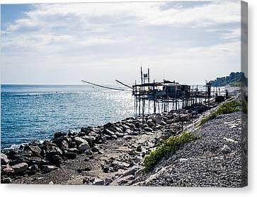 Italy - The Trabocchi Coast 2  Canvas Print