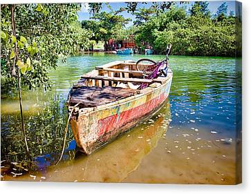 Canvas Print featuring the photograph Itaparica Transportation by Kim Wilson