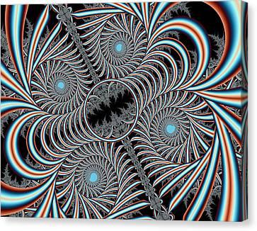 Iterations Et Flarium Canvas Print
