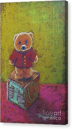 It's A Bear's World Canvas Print by Tracy L Teeter