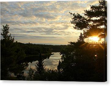 Canvas Print featuring the photograph It's A Beautiful Morning by Debbie Oppermann