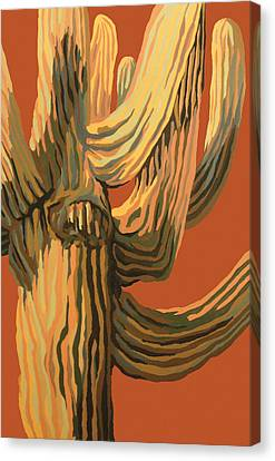 It's A Dry Heat Canvas Print by Sandy Tracey