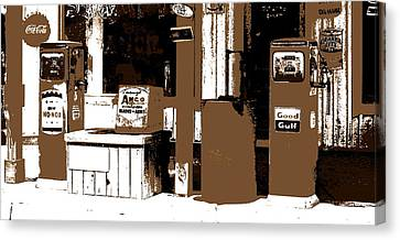 Its A Gas Canvas Print by Ed Smith