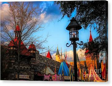 Canvas Print - It's A Small World by Paulette Thomas