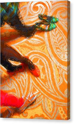 It's All About The Shoes Canvas Print by Gary Guthrie