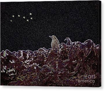 It's Almost Dawn Canvas Print by Kathy Daxon