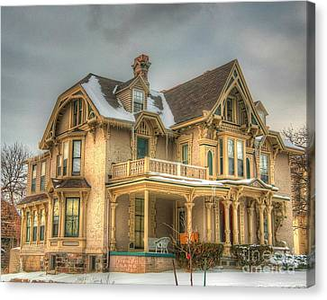 Abandoned House Canvas Print - Its History-3 by Robert Pearson