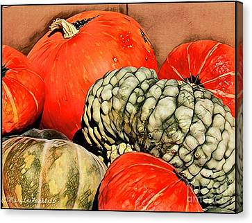 It's Pumpkin  Season Canvas Print by MaryLee Parker