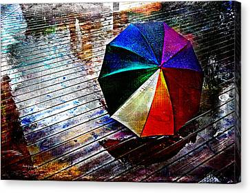 It's Raining Again Canvas Print