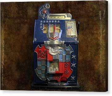 It's Your Dime-1936 Antique Slot Machine Canvas Print
