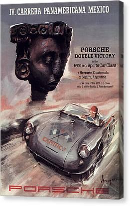 Iv Carrera Panamericana Porsche Poster Canvas Print