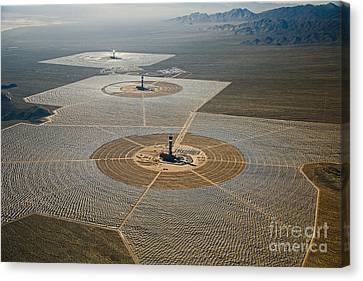 Ivanpah Solar Power Plant Canvas Print