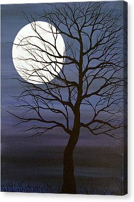 I've Touched The Moon Canvas Print