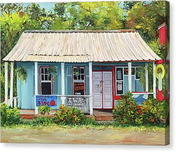 Iwa Gallery Canvas Print by Stacy Vosberg