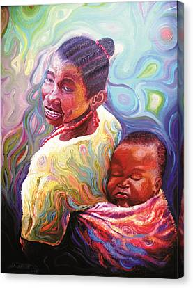 Iyaniwura  Canvas Print by Bankole Abe