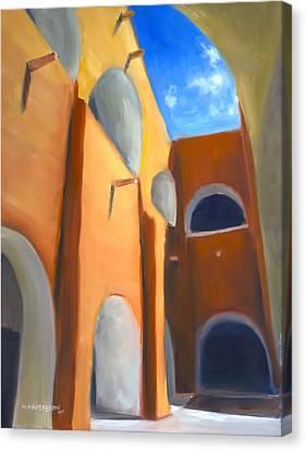 Izamal - Monastery San Antonio De Padua  Canvas Print