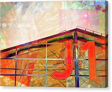 J1 Marseille, Hangar Canvas Print