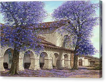 Jacaranda Canvas Print by Doug Kreuger