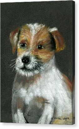 Jack Canvas Print by Arline Wagner