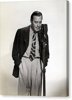 Jack Benny, Ca 1930s Canvas Print by Everett