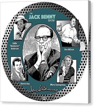 Jack Benny Show Canvas Print by Greg Joens