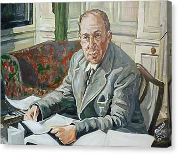 Jack C S Lewis Canvas Print