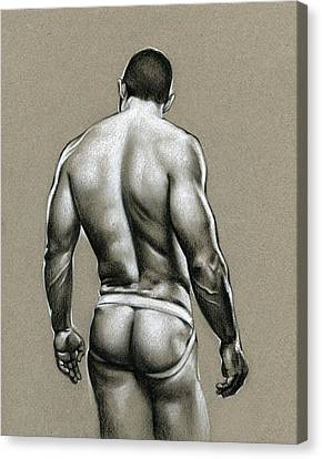 Jack Canvas Print by Chris  Lopez