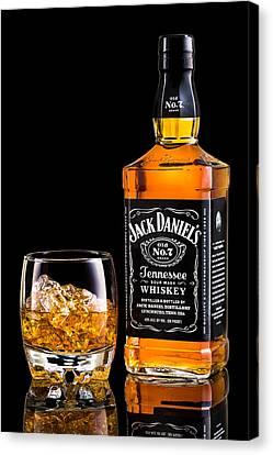 Jack Daniel's Canvas Print by Mihai Andritoiu