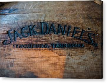Jack Daniels Oak Barrel Canvas Print