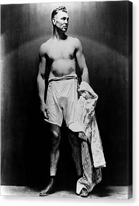 Jack Dempsey, Circa 1920s Canvas Print by Everett