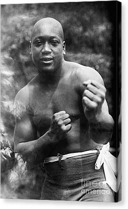 Jack Johnson (1878-1946) Canvas Print by Granger