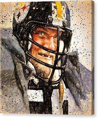 Jack Lambert Mr. Fierce Canvas Print