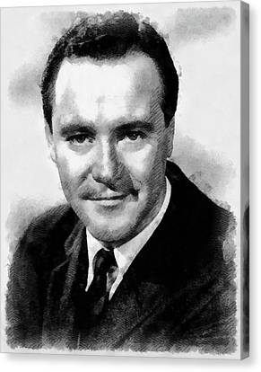 Jack Lemmon Hollywood Actor Canvas Print by Frank Falcon