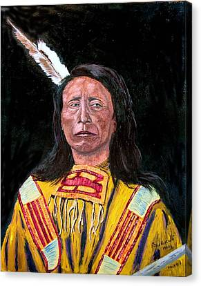 Jack Red Cloud Canvas Print by Stan Hamilton