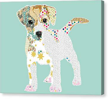Jack Russell Canvas Print