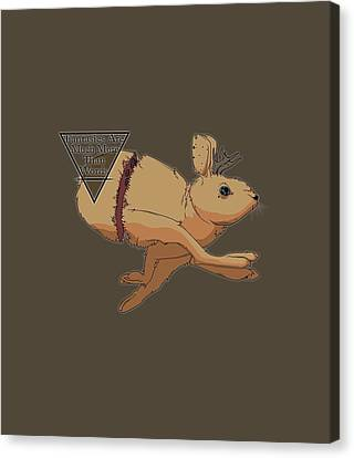 Canvas Print - Jackalope by James Dean