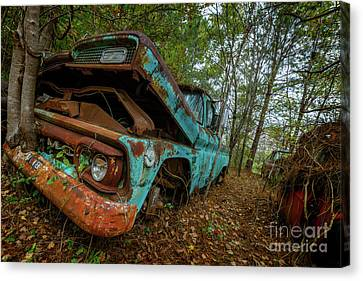 Jacked Up Gmc Canvas Print