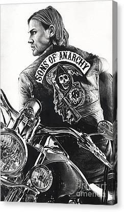 Jackie Boy Canvas Print by James Holko
